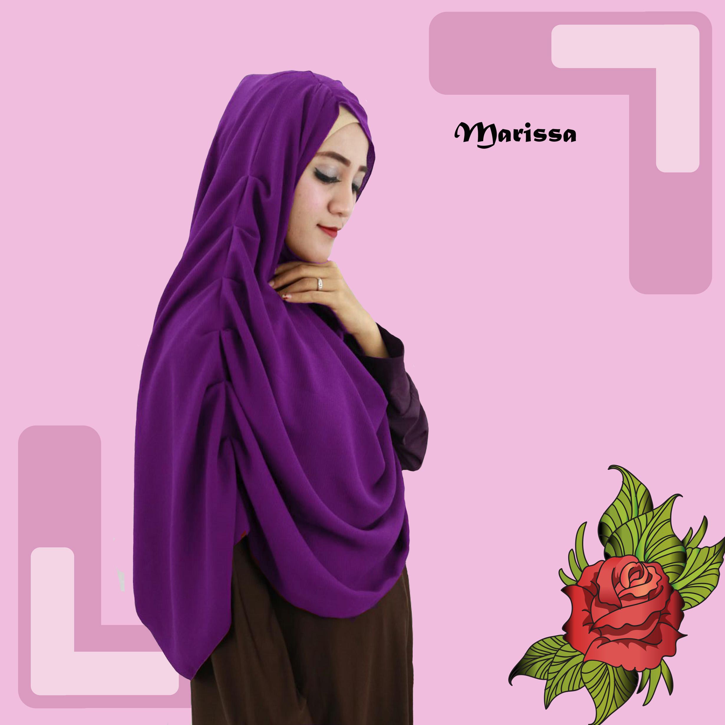 Tags Husna Hijab Jual Pashmina Instan Bahan Diamond Cantik Murah Non Pet Marissa Produsen