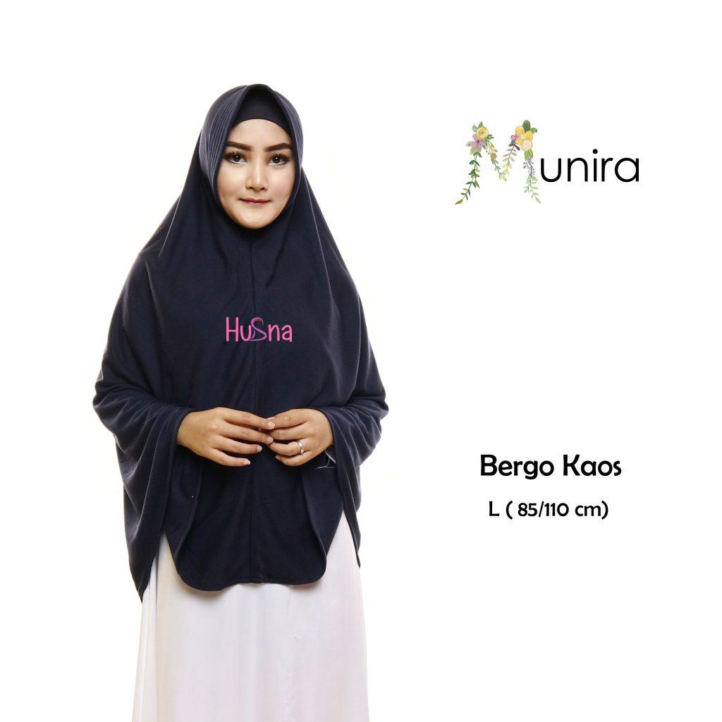 Tren Jilbab Bergo Kaos Yang Tak Lekang Oleh Waktu